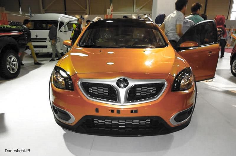 برلیانس کراس سایپا و پارس خودرو - brilliance-cross c3 saipa