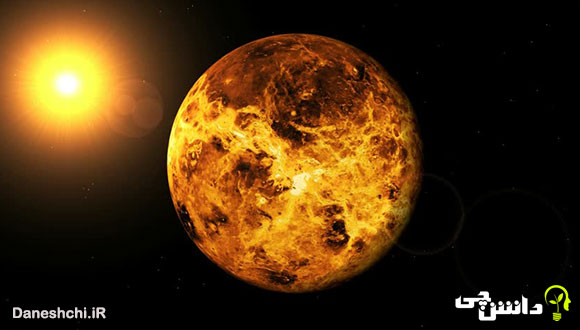 تحقیق در مورد سیاره زهره