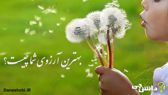 انشا در مورد بهترین آرزوی شما چیست؟
