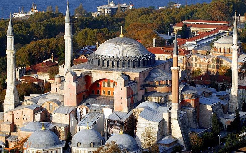 بازدید از موزه ایاصوفیه استانبول در گردش با تور استانبول