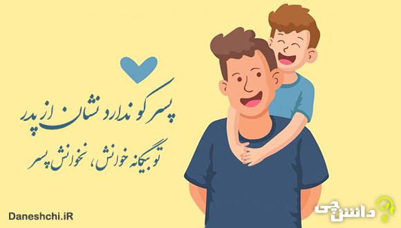 معنی ضرب المثل پسر کو ندارد نشان از پدر