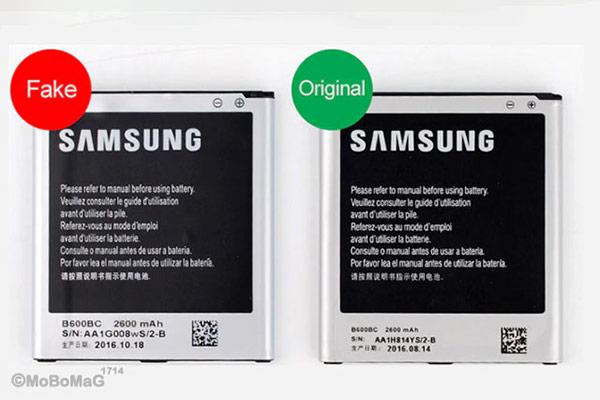 راههای تشخیص باتری اصلی گوشی موبایل