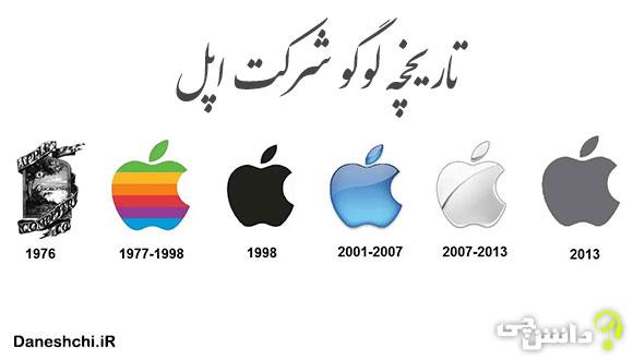 آرم شرکت اپل