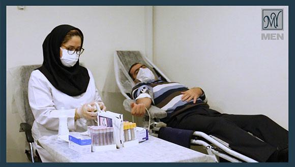 اهدای خون مسئولیت اجتماعی مای مردانه در دوران کرونا